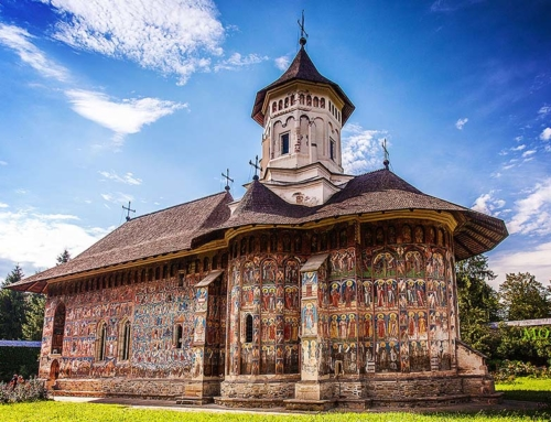 The painted Monasteries of Bucovina